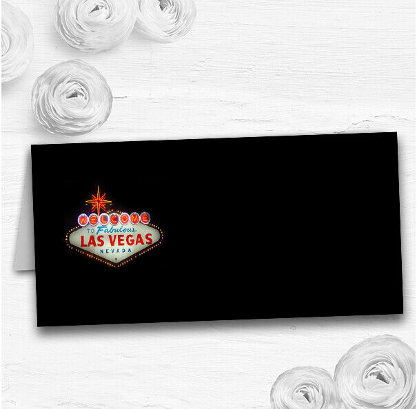 Las Vegas Sign Fabulous Wedding Table Seating Name Place Cards