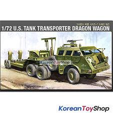 Academy 13409 1/72 Plastic Model Kit US Tank Transporter Dragon Wagon Series 7
