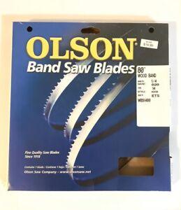 Olson Saw WB56480DB 1//4 by 0.20-Inch .14 TPI Hook Style Wood Band Saw Blade NIB