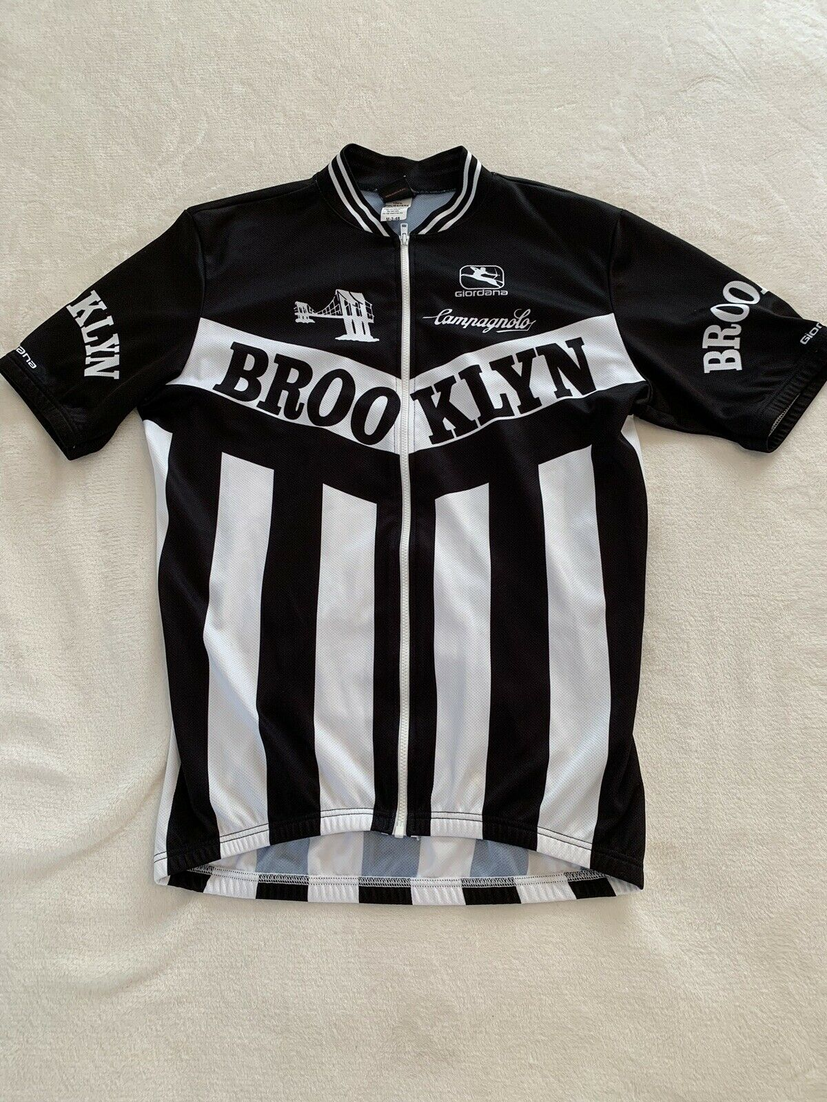 Giordana Brooklyn Cycling Mens Jersey MED Preowned   for sale online