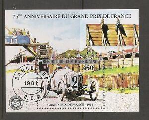 Central-African-Republic-SC-475-Grand-Prix-De-France-75th-Anniversary-SS-MNH