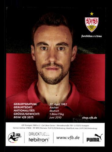 Matthias Schiffers Autogrammkarte VFB Stuttgart II 2015-16 Original A 158657