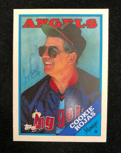 COOKIE-ROJAS-1988-TOPPS-AUTOGRAPHED-SIGNED-AUTO-BASEBALL-CARD-97T