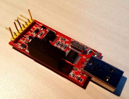 Opto-isolated 1500V 2Mbps USB to Serial Module for Haasoscope
