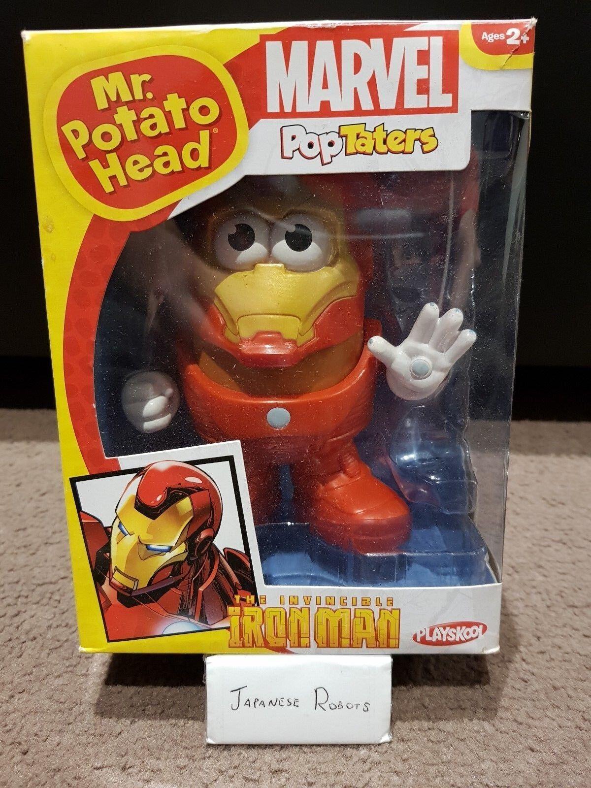 PPW Marvel Comics Iron Man Mr Potato Head Toy Figure Statue