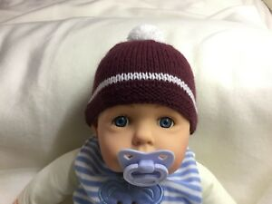 c839571a081 Heart of Midlothian Football Club baby s first supporter hat fits 0 ...