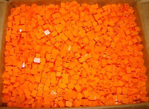 LEGO LOT OF 50 NEW 1 X 1 Orange BRICKS