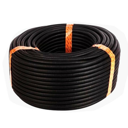 25 Ft 3//4inch Split Wire Loom Conduit Polyethylene Tubing Black Color Sleeve TP