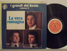 LA VERA ROMAGNA disco LP 33 GRANDI DEL LISCIO 6 Nicolucci Bergamini Ranieri