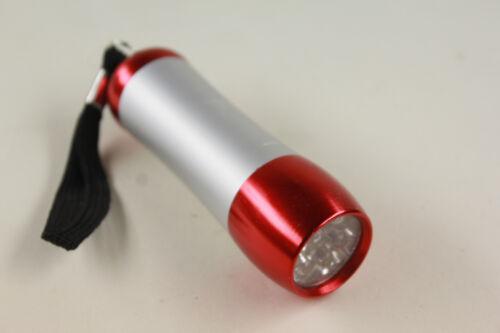 Dörr Torpedo Taschenlampe LED rot