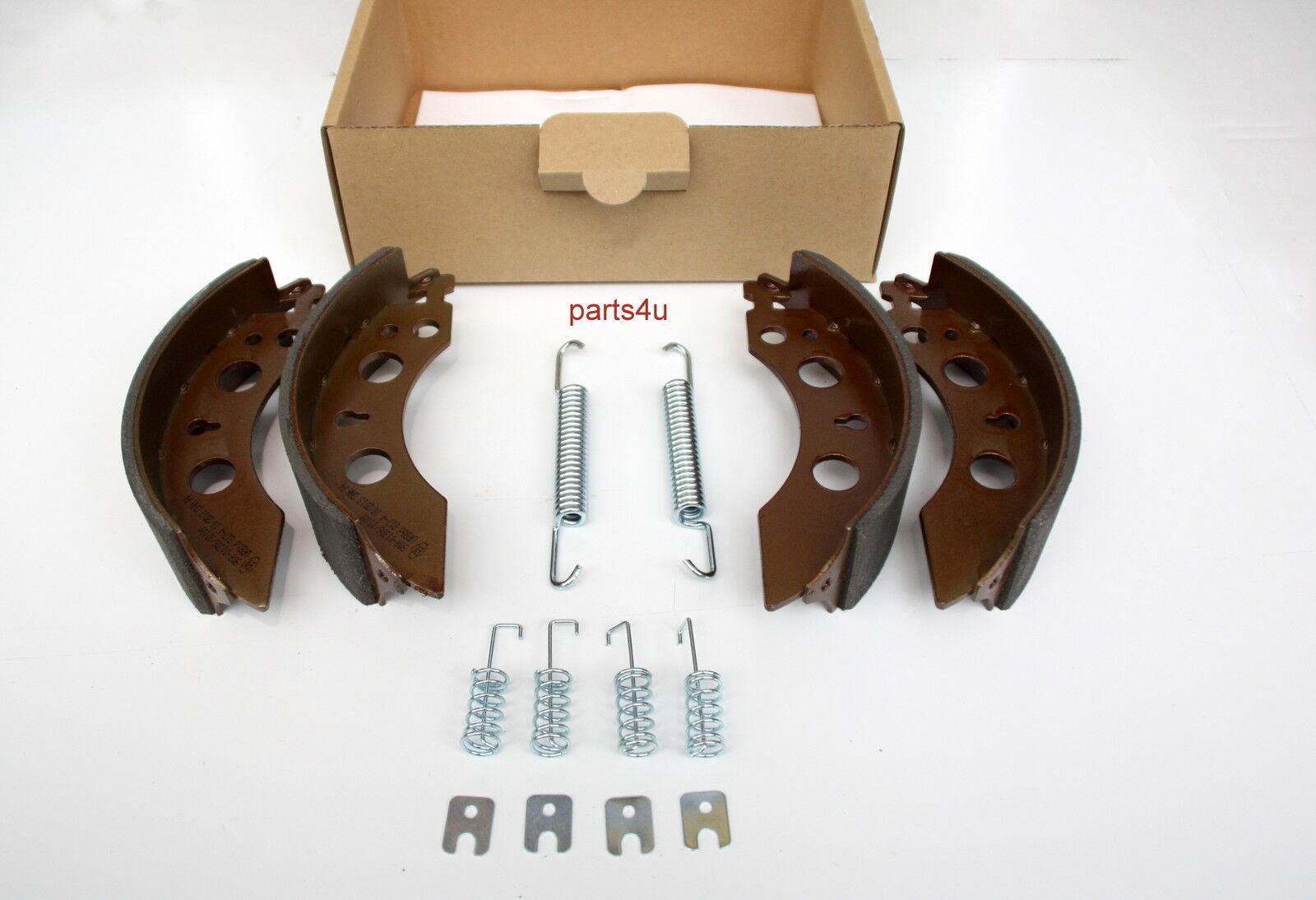 2x Zapatas de Freno para Alko Rueda 200x50 mm 2050 2051 1213889 384294