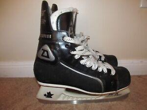 VTG-Size-7-5-Adult-Daoust-Silver-444-Hockey-Skates
