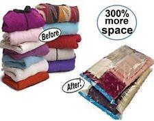 Set Of 4 Pcs  Space Saver Storage Bag Vacuum Seal Compressed Organizer 50* 60