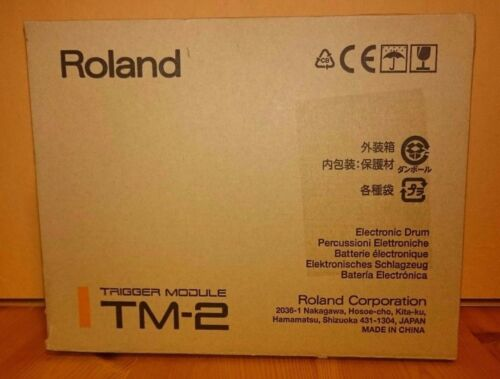 Roland TM-2 Acoustic Drum Adapter /& Battery Trigger Module Authorized Dealer