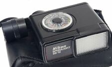 NIKON SB-12 + Diffuser + Soft Case - Speedlight Flash -
