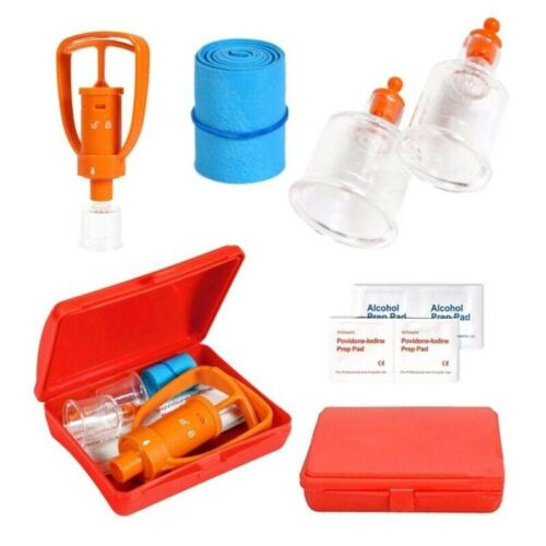 First Aid Safety Tool Kit LIVABIT Emergency Venom Snake Bite Extractor Pump