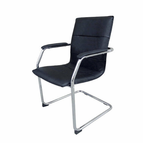 Leather Faced Vistor Chair