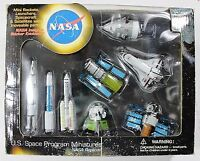 Nasa Us Space Program Miniatures Replicas Play Visions 8 Piece Toy Pack 20015