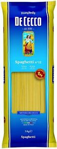 DE-Cecco-Pasta-Spaghetti-1kg-No-12-ITALIAN-MADE-IN-ITALY