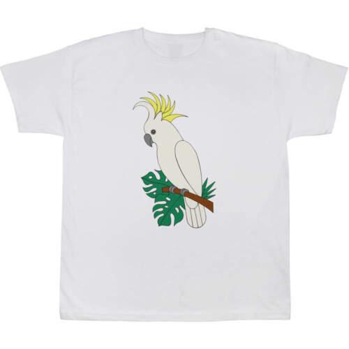/'Cockatoo/' Children/'s Kid/'s Cotton T-Shirts TS023056