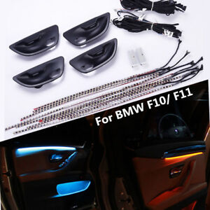 Led Kit Car Interior Door Panel Handle Decoration Light Stripe For
