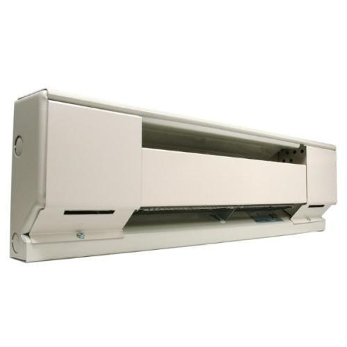 Qmark 2542W 400w 2/' Long 208-240v Navajo White Baseboard Heater