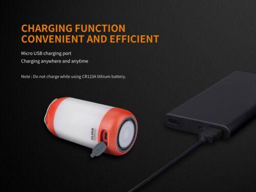 Green New Fenix CL26R 400 lumens USB LED Camping Lantern Light NO Battery