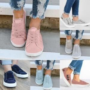 Fashion-Women-Shoes-Flat-Shoes-Gift-Canvas-Athletic-Sneakers-Casual-Shoes-Size