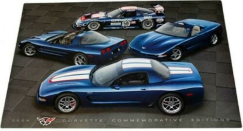 2004 Chevrolet Chevy Corvette C5 Commemorative Edition Poster 24 X 36  MODELMAX