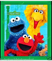 Quilting Treasures elmo & Friends 24712-x Sesame St. Fabric Per Panel 36x44