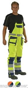 Ocean Medusa High-vis, Bib & Brace Trousers / Overall / Work Wear / 130-16-99