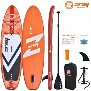 ZRAY EVASION DELUXE 9.0 SUP Board Stand Up Paddle Surf-Board ALU Paddel ISUP 275