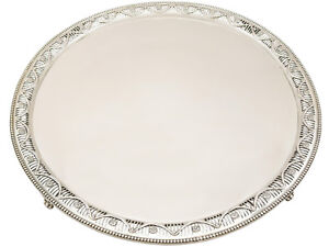 Antique-Sterling-Silver-Salver-by-William-Wrangham-Williams-Victorian-2986g