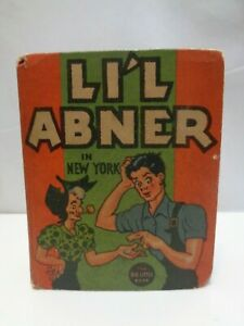 1936-Vintage-Li-039-l-Abner-in-New-York-Big-Better-Little-Book