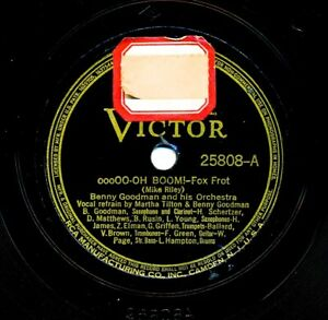 BENNY-GOODMAN-Orchestra-1938-Victor-25808-oooOO-Oh-Boom-Always-and-Always