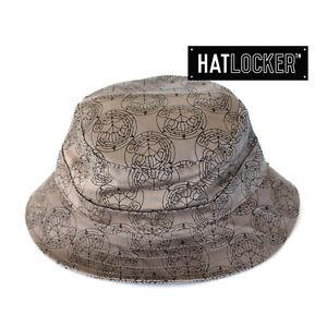 63775de6a4de4 Details about Crooks   Castles - Cathedral Speckle Grey Bucket Hat
