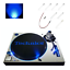 Technics-SL-1200-SL-1210-Electric-Blue-LED-Upgrade-Kit miniatuur 1