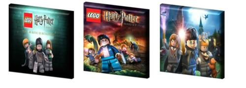 "LEGO HARRY POTTER CANVAS PICTURES FREE POST 6"",8"",10"" + 12"" from 11.99"