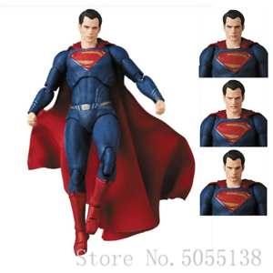 Medicom-Mafex-DC-Comics-Justice-League-Superman-Action-Figure-Collectible-Model