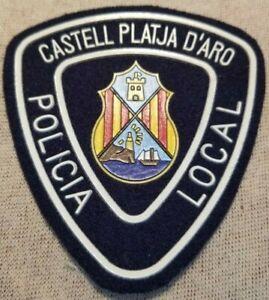 Castell-Platja-d-039-Aro-Espana-POLICIA-policia-Parche
