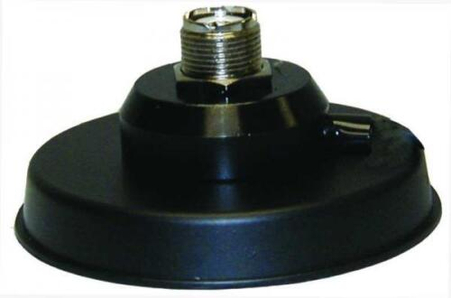 """MFJ-333BS 3/"""" Magnet Mount for Mobile Antennas with UHF Connector and 17/' Coax"""