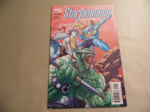 Free Domestic Shipping Starjammers #1 Marvel 2004