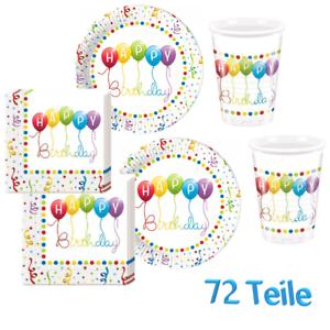 Partybecher Trinkbecher Birthday Party 0,2 l Geburtstag Party Deko