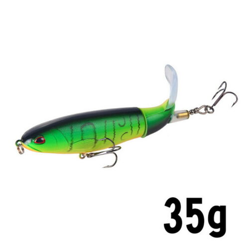 Topwater Floating Fishing Lures Rotating Tail for Bass-10 Colors