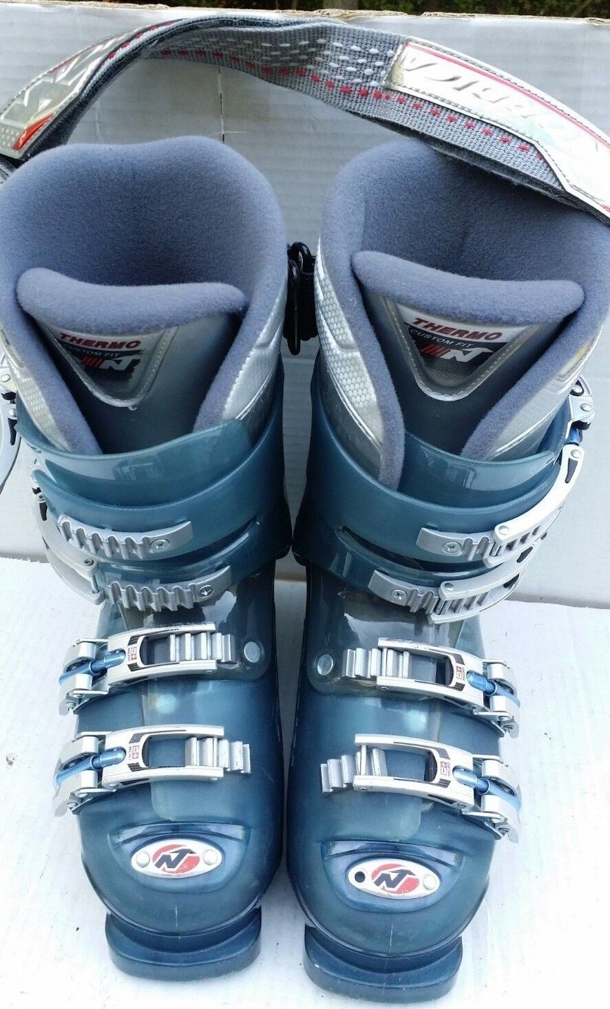 Nordica Olympia Beast 10 Downhill Ski Boots Size 23.0 – 23.5
