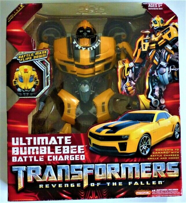 30% OFF  Transformers Ult. Bumblebee battle Charged Revenge of the Fallen Camaro