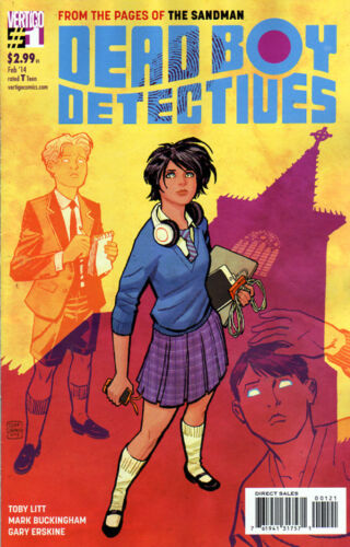 DEAD BOY DETECTIVES #1 Cliff Chiang VARIANT Cover 1:13 2014