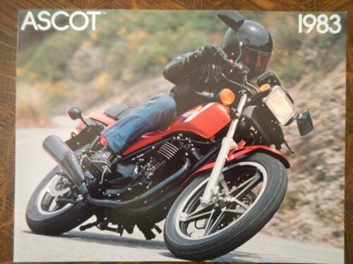 1983 HONDA FT500 ASCOT NOS OEM DEALER/'S BROCHURE FT 500 83