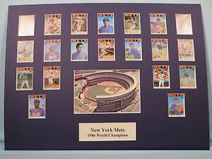 New York Mets led by Dwight Gooden & Keith Herandez - 1986 World Series Champs
