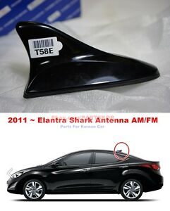 For 2011 2014 Hyundai Elantra Avante Am Fm Shark Fin